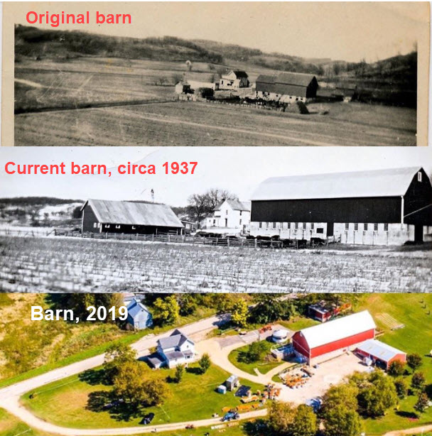 Enchanted Valley Acres - Fall Family Fun and Christmas Trees - History of the barn image